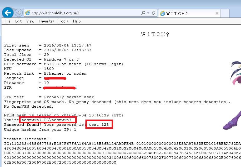 Odcizení přihlašovacích údajů k Windows jen pomocí webové stránky Ntlm-leak